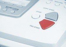 Fax-Buchung