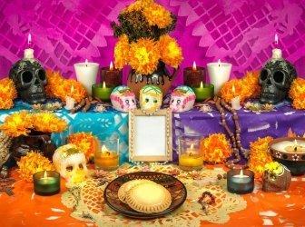 Mexikanischen Tag der Toten (Dia de Muertos)