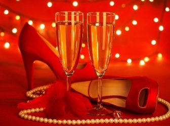 Valentinstag-party