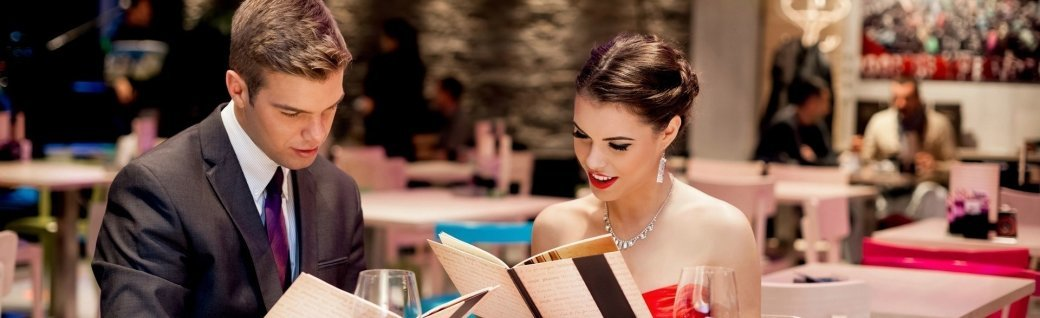 Elegantes Paar im restaurant, Quelle: LuckyBusiness/istockphoto