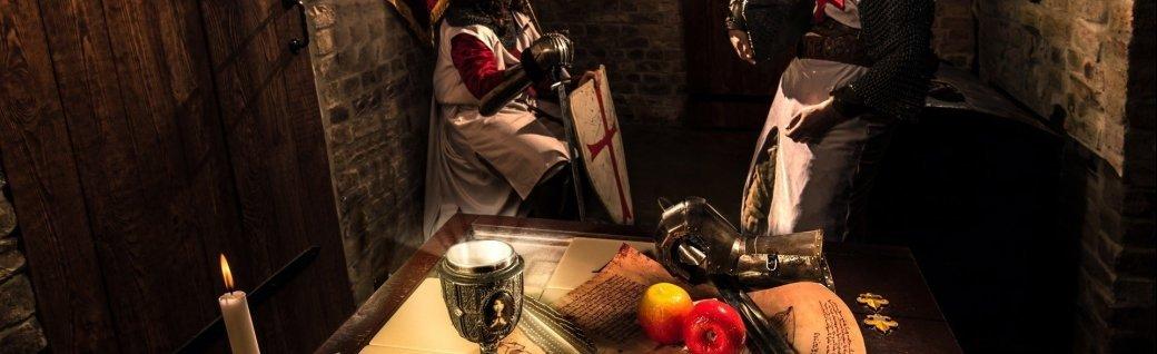 Ritter mit metall Rüstungen, Quelle: sundrawalex/istockphoto