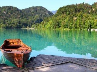Bleder See in Slowenien