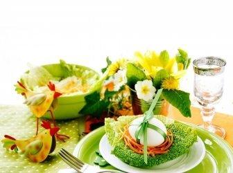 Ostern Tischdekoration