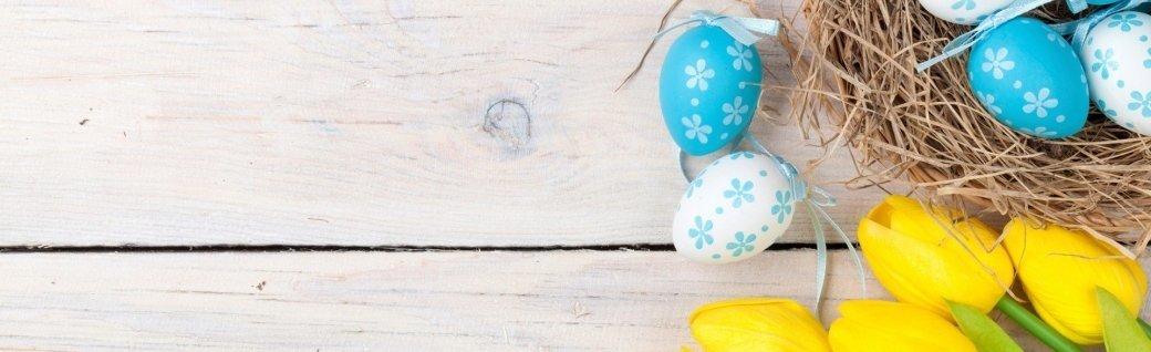 Ostern-Hintergrund mit bunten Eiern, Quelle: karandaev_stockxpertcom