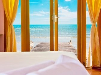 Resort im beauty und Strand