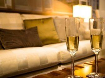 Champagner für zwei