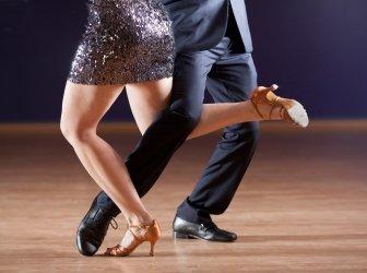tango-Tänzer, die Beine
