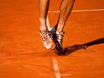 Tennis Füße Sprung - Details
