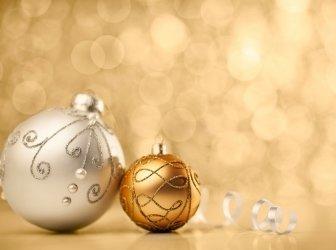 Golden Weihnachten Weihnachtsschmuck