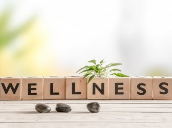 Wellness in Holzklötzchen
