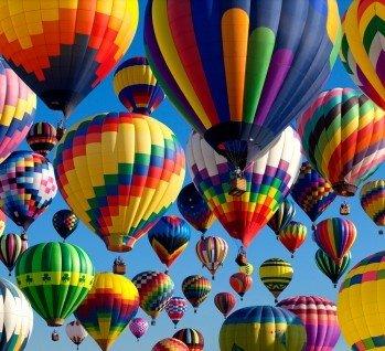 Heißluftballon, Quelle: Aneese/istockphoto