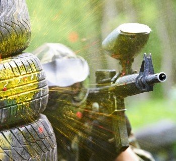 Paintball , Quelle: ©Dmitry Kalinovsky/istockphoto
