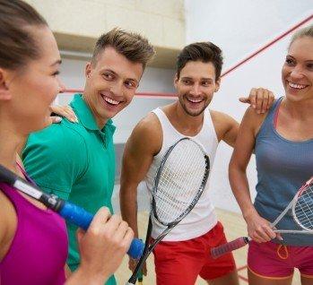 Badminton, Quelle: gpointstudio/istockphoto