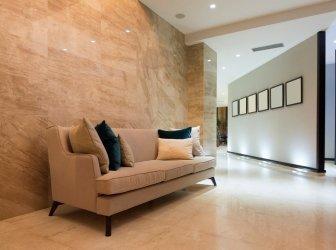 Eleganter Luxushotelgang
