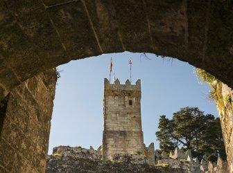 Castelo de Montereal in Baiona
