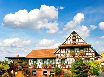 Typisches traditionelles Haus im Schwarzwald, Deutschland