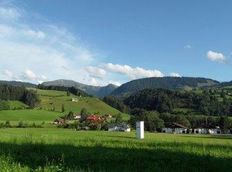 Wunderschöne Landschaft in der Nähe von Oberstaufen Allgäu