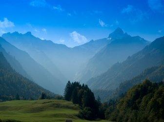 Gebirge Trettachspitze Racecourse Bayern
