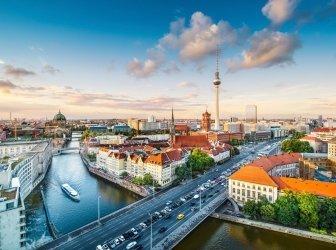 Skyline von Berlin, Deutschland