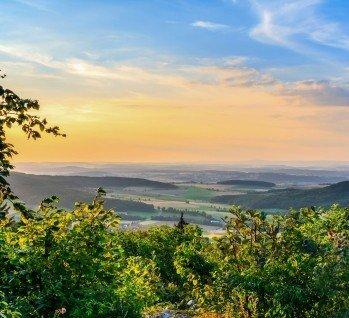 Frankenwald, Quelle: Andreas Zerndl/istockphoto