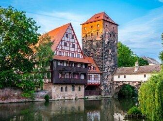 Panorama von Rothenburg ob der Tauber