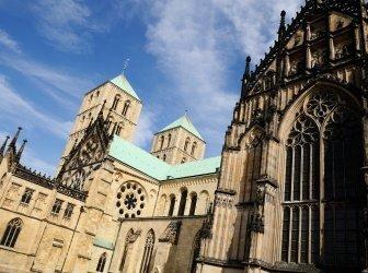 Kathedrale in Münster, Deutschland