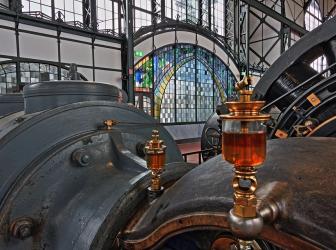 Alte Industrie Bier Brauen