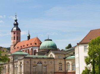 Baden Baden city view