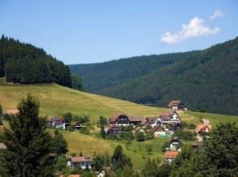 Baiersbronn, Landschaft im Schwarzwald, Deutschland