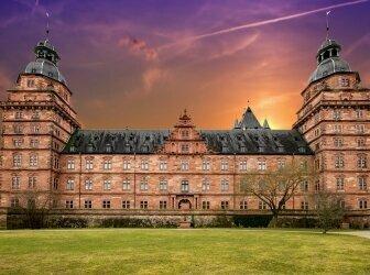Würzburg und Main im Frühling