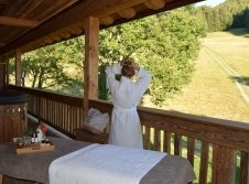 Private Spa Behandlungen in der Chalet-Suite