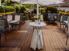 Alte Landratsvilla Hotel Bender  - Terrasse/Außenbereich