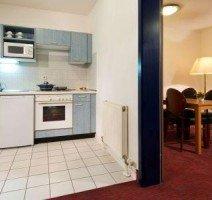 Apartment Kitchenette, Quelle: (c) ACHAT Comfort Darmstadt/Griesheim