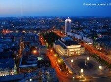 Augustusplatz mit Oper Leipzig