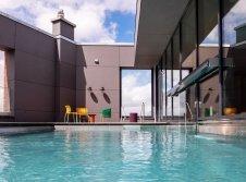 Außenbereich Rooftop Pool