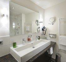 Waschbecken im Badezimmer, Quelle: (c) Hotel Ritter Durbach