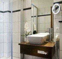 Dusche/WC in allen Gästezimmern, Quelle: (c) Hotel Moseltor