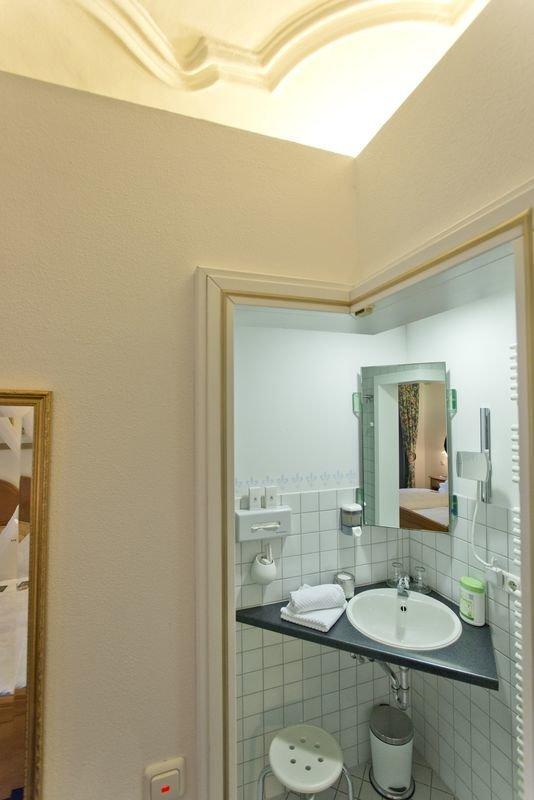 Die seele baumeln lassen im flair hotel gasthof am for Badezimmer quelle