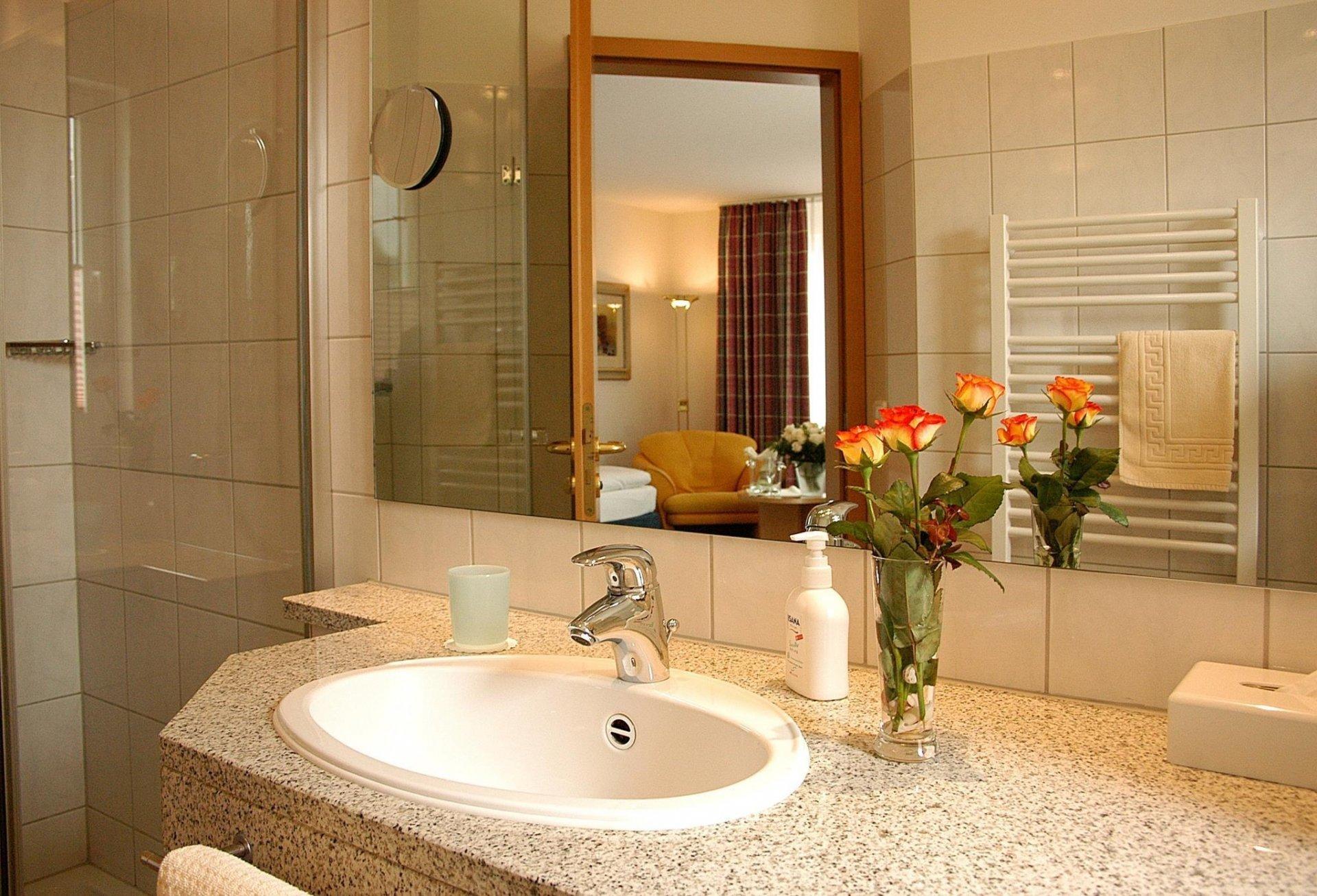 Badezimmer Ibbenburen.Zeit Zu Zweit Im Hotel Leugermann In Ibbenburen Verwoehnwochenende