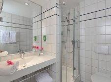 Badezimmer Hotel Haus Surendorff