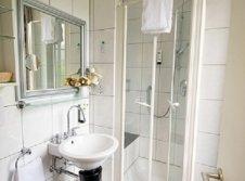 Badezimmer im Einzelzimmer