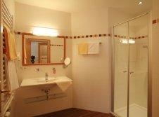 Badezimmer im Wellness Hotel