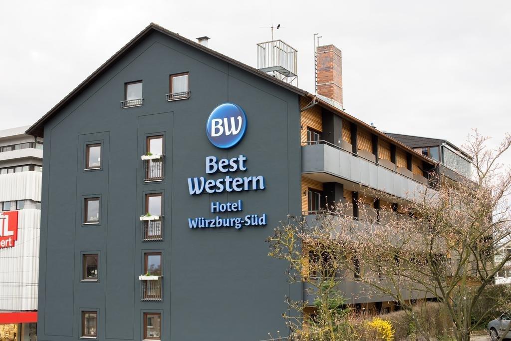 Hotel best western hotel w rzburg s d in w rzburg lage for Hotels in wuerzburg