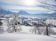 Biohotel Eggensberger im Winter