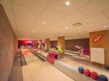 Bowlingbahn im Hotel