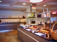 "Buffet im Restaurant ""Seaside"""
