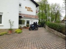 Burg-Hotel - Hotel-Außenansicht