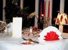 Candlelight im Restaurant