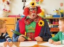Clown im Kinderland