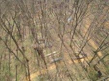 Das Baumhaus aus 32m mit der Drohne